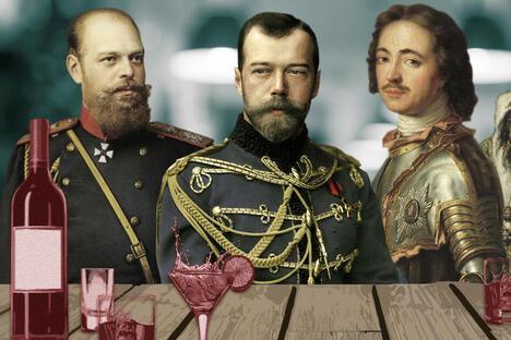 Tsars and `vodka