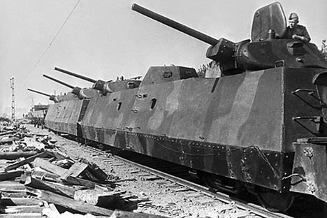 Soviet armored train