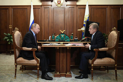 Putin and Saveliev
