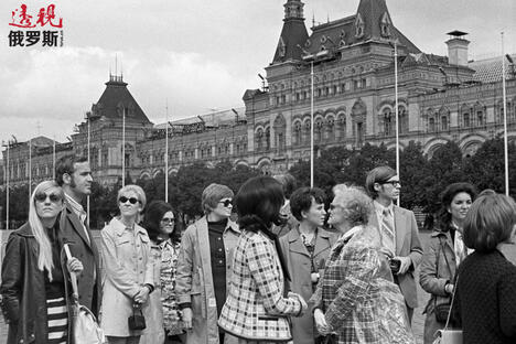Americans in Moscow