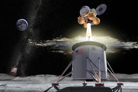 Artemis program ascent vehicle