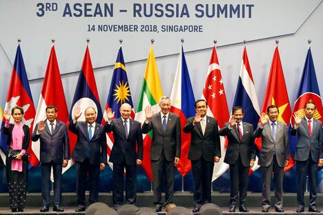 Russia ASEAN Singapore Summit