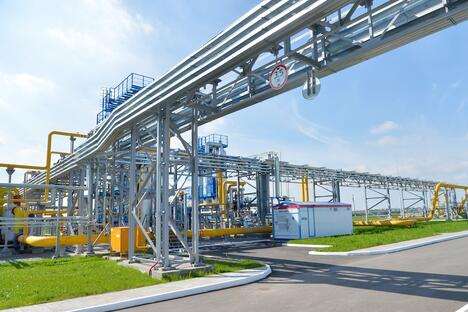 Novatek's first low-tonnage LNG plant in Magnitogorsk.