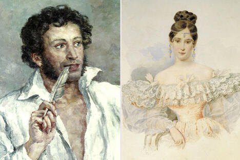 Pushkin and Goncharova