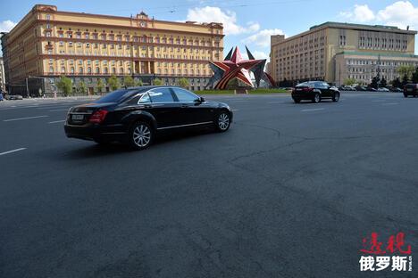 Moscow's Lubyanskaya Square CN