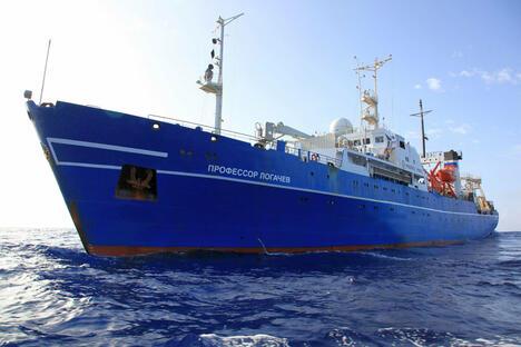 Professor Logachev research-survey vessel