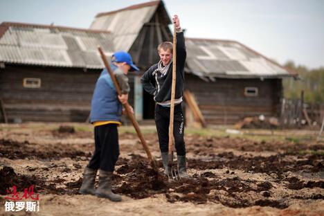 Russians start dacha season CN
