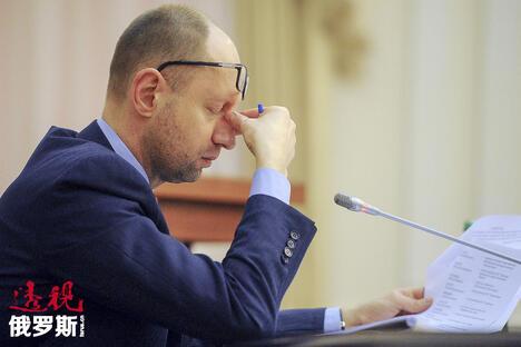 Ukraine's Prime Minister Arseny Yatseniuk CN