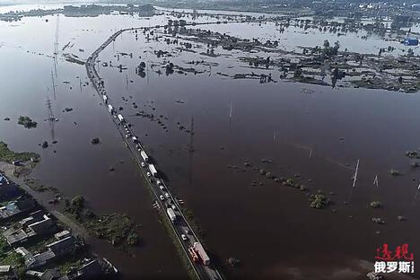 flood in Irkutsk region