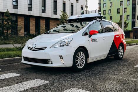 Yandex driverless cars