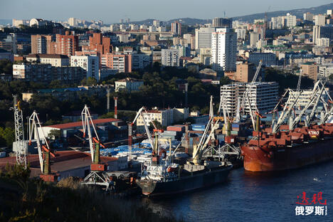 Vladivostok port