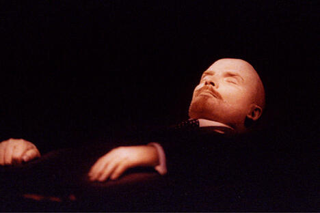 The body of Vladimir Lenin