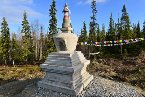 Stupa in Apatity