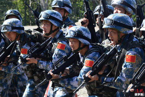 China Soldiers