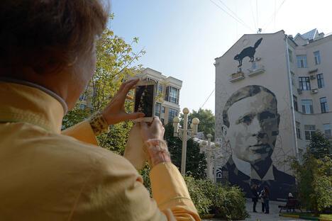 Russian writer Mikhail Bulgakov