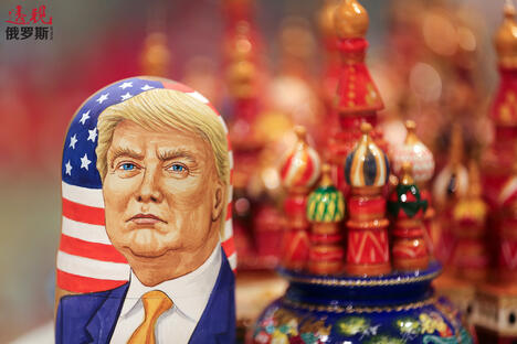 A martyoshka doll showing Donald Trump CN