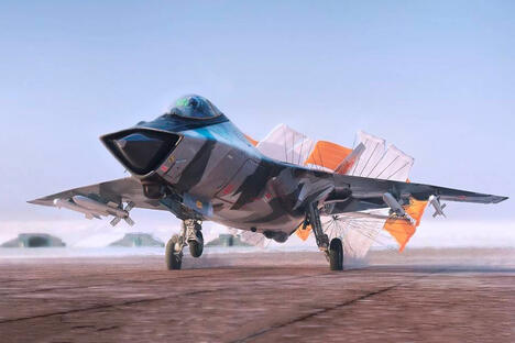 Russian 6th generation fighter jet