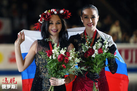 Zagitova and Tuktamysheva