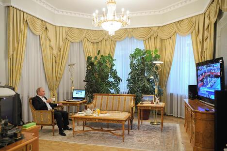 Putin in Novo-Ogaryev