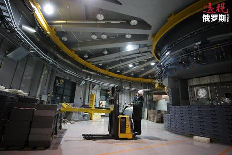 PIK nuclear reactor