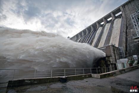 Hydroelectric Power Plant on Zeya river