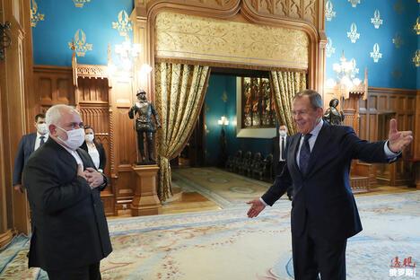 Lavrov and Zarif