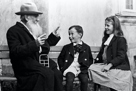 Tolstoy and Grandchildren