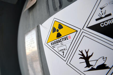 depleted uranium hexafluoride (DUHF)