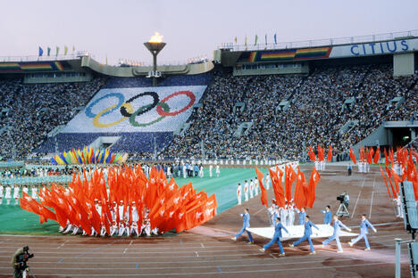 1980 Moscow Olympics