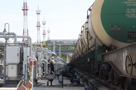 """Primorsky Krai, Oil-loading port """"Kozmino"""""""