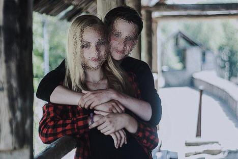 Teens from Pskov