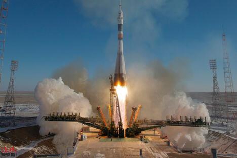 Russian Rocket Souyz