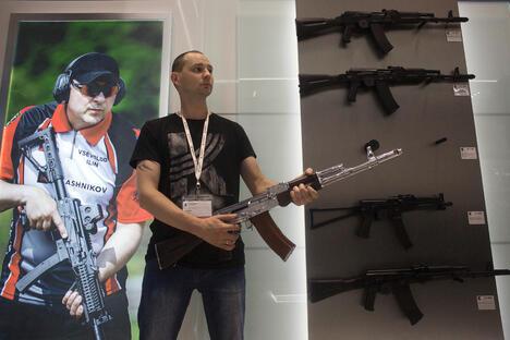 Kalashnikov at Sheremetevo Airport