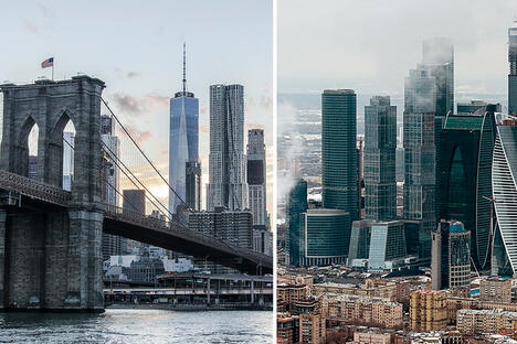 New York VS Moscow