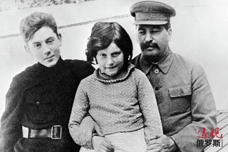 Stalin with children