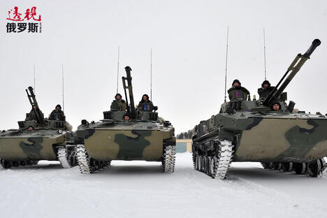 BMD-4 Bakhcha airborne combat vehicles CN