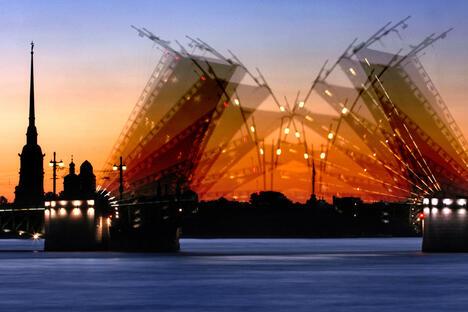 Petersburg drawbridges