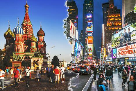 Moscow vs NY