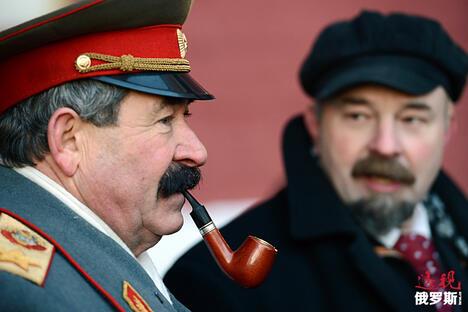 Joseph Stalin and Vladimir Lenin CN
