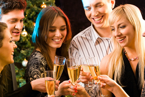 The old tradition of greeting the New Year with French champagne has been restored in Russia. Source: PhotoXPress
