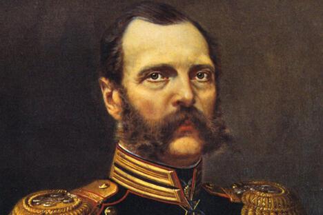 亚历山大二世肖像。