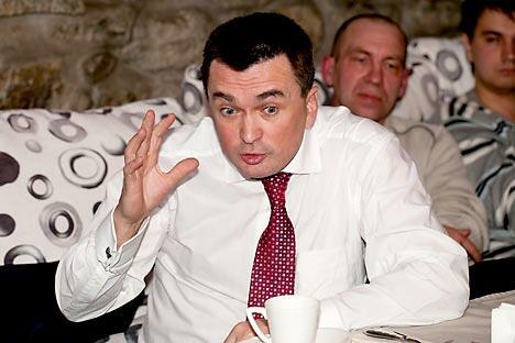 弗拉基米尔•米克鲁舍夫斯基,远东国立大学校长。摄影:俄新社