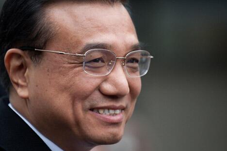 中国国务院副总理李克强正在首次访问俄罗斯。摄影:AFP/East News