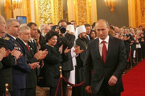 摄影:Kremlin press service