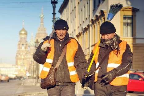 6.5%的失业率促使俄罗斯从中亚国家引入移民劳工。摄影:俄通社-塔斯社