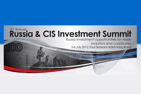 摄影:www.russiainvestsummit.asia