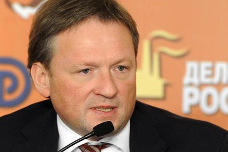 俄中企业家理事会俄方主席鲍里斯•季托夫。摄影:俄通社-塔斯社 (ITAR-TASS)