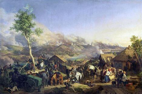 画家:彼得·冯·赫斯(1792-1871), 斯摩棱斯克战役(1812)