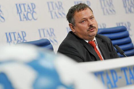 图中:马克西姆·梅德韦德科夫,图片来源:俄新社
