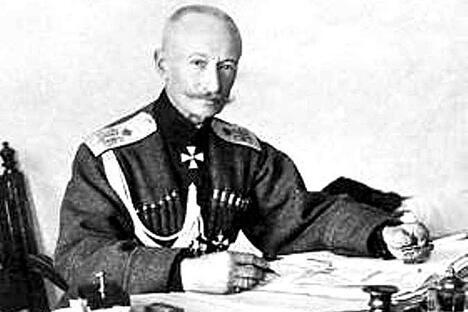 骑兵上将阿列克谢•布鲁西洛夫